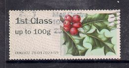 GB 2014 QE2 1st Post & Go Up To 100 Gms Holly ( C501 ) - Great Britain