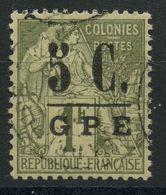 Guadeloupe (1890) N 11 (o) - Oblitérés