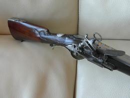 Superbe Fusil à Platine à Miquelet 18è Du Royaume De Naples - Armes Neutralisées