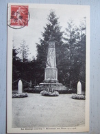 LA BAZOGE / MONUMENT AUX MORTS 1914-1918 / BELLE CPA 1938 - France