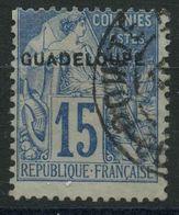 Guadeloupe (1890) N 19 (o) - Oblitérés