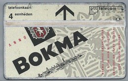 NL.- Telefoonkaart. PTT TELECOM. 4 Eenheden, BOKMA. - 306A - Levensmiddelen