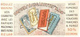 Pa N/ Buvard Papier A Cigarette Riz La (N= 1) - Tabac & Cigarettes