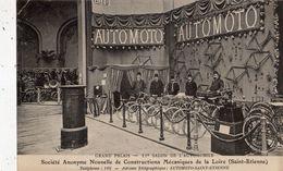 SAINT-ETIENNE GRAND PALAIS 11 E SALON DE L'AUTOMOBILE STAND AUTOMOTO (THEME MOTO ) - Saint Etienne