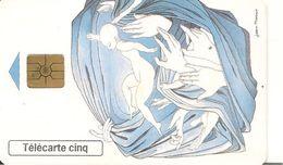 CARTEa-PRIVEE-5U-GN501-GEM2-06/98-SIDA INFO-Jean Marais-UTILISE-TBE - France