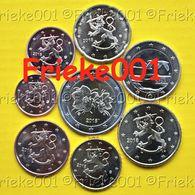 Finland - Finlande - 1 Cent Tot 2 Euro 2018 Unc. - Finlande