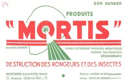 D M/ Buvard Dératisation Mortis (N=3) - Buvards, Protège-cahiers Illustrés