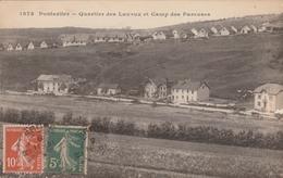 25 PONTARLIER     Quartier Des Lavaux Et Camp Des Pareuses  TB PLAN  1918 PAS COURANT - Pontarlier