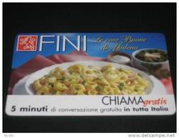 CHIAMAGRATIS TELECOM ITALIA GOLDEN 360 - FINI TORTELLINI - FUORI TIRATURA NUOVA - Alimentazioni