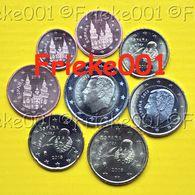 Spanje - Espagne - 1 Cent Tot 2 Euro Unc 2018. - Espagne