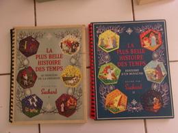 Lot La Plus Belle Histoire De Tous Les Temps 1 Et 2 (images SUCHARD) COMPLETS! - Découpis