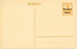 160/26 - Entier Occupation No 14  Etapes Surchargé Belgien - Etat NEUF - Cote Catalogue SBEP 50 EUR - Stamped Stationery