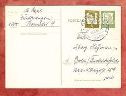 P 74 Duerer + ZF, Feuchtwangen Nach Berlin 1963 (47402) - BRD