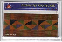 Carta Telefonica Ghana - 60 Unita  -  Carte Telefoniche@Scheda@Schede@Phonecards@Telecarte@Telefonkarte - Ghana