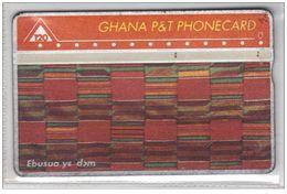 Carta Telefonica Ghana - 120 Unita  -  Carte Telefoniche@Scheda@Schede@Phonecards@Telecarte@Telefonkarte - Ghana