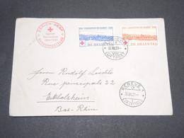 SUISSE - Enveloppe De Zurich Pour La France En 1939 , Affranchissement Plaisant - L 13924 - Cartas