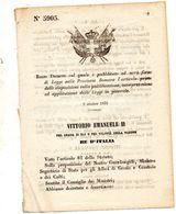 1870  DECRETO - Decreti & Leggi