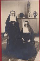 Oude Foto Old Photo NON KLOOSTERLINGE ZUSTER SOEUR RELIGIEUSE NONNE FREIRA Sister Nun Unknown Inconnu Onbekend - Zonder Classificatie