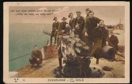 ZEEBRUGGE = THE MOLE - Guerre 1914-18