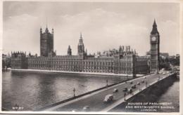 LONDON - Haus Of Parlament, Fotokarte Gel.1952 - Ohne Zuordnung