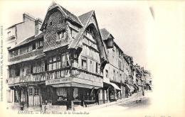 [DC11700] CPA - FRANCIA - LISIEUX - VIEILLES MAISON DE LA GRANDE RUE - Non Viaggiata - Old Postcard - Lisieux