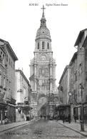 [DC11709] CPA - FRANCIA - BOURG - EGLISE NOTRE DAME - Non Viaggiata - Old Postcard - Bourg-en-Bresse