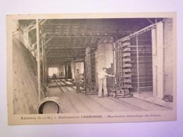 LUZANCY  (Seine-et-Marne)  :  Etablissements  CARBONNEL  -  Manutention Automatique Des BRIQUES   - Sonstige Gemeinden
