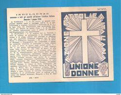 TESSERA AZIONE CATTOLICA ITALIANA DONNE  1941 DIOCESI BISTAGNO ACQUI ASTI  BOLLO VIDIMAZIONE DIOCESANA - Organizaciones