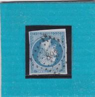 N° 14 B  PC  803   CHATELLERAULT   /  VIENNE  - REF 14616 + VARIETE - 1853-1860 Napoleon III
