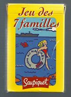 V657 - JEU DES 7 FAMILLES - SAUPIQUET - Jeux De Société