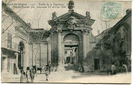 CPA - Carte Postale - France - Villeneuve-lès-Avignon - Entrée De La Chartreuse Du Val   (CP955) - Villeneuve-lès-Avignon
