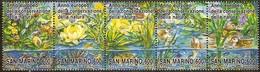 Saint-Marin San Marino  1995  Yvertn° 1391-1395 *** MNH Cote 5,00 Euro Flora Flore - Saint-Marin