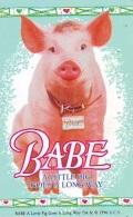 Télécarte Japon / 110-011 - CINEMA - BABE * COCHON * (4141) A LITTLE PIG GOES A LONG WAY - Japan Movie Phonecard - Film