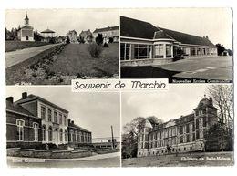 SOUVENIR DE MARCHIN  -  CPM 1950 / 60 - Marchin