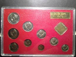 Set Of Coins 1975 Proof Laike Leningrad Mint Goznak - Rusland