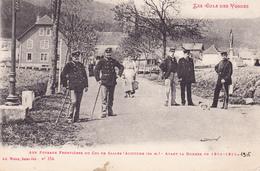 Aux Poteaux Frontères Du Col De Saales - Avant La Guerre De 1914 -1918 - Col De Bussang