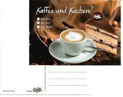 """4173b: Bäckerei- Cafe Geier In Strasshof An Der Nordbahn, Niederösterreich: """"Kaffee Und Kuchen"""" - Werbepostkarten"""