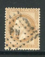 Y&T N°28B- Ambulant P N (signé Au Dos) - 1863-1870 Napoléon III Lauré
