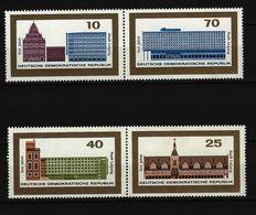 DDR - Einzelmarken Aus Block 23 Und Block 24 Postfrisch - DDR