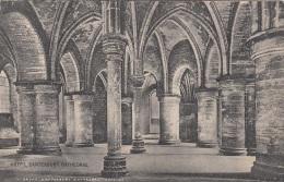 CANTERBURY (Kent) - Crypt. Cathedrale, Gel.1923?, Postablage Oder Sonderstempel? - Canterbury