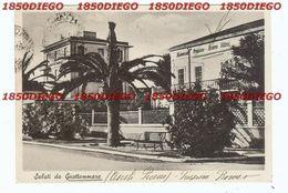 SALUTI DA GROTTAMMARE - PENSIONE ROMA F/GRANDE  VIAGGIATA 1951 - Ascoli Piceno