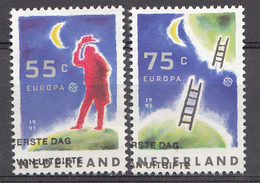 Pays-Bas 1991  Mi.nr: 1409-1410 Europa  Oblitérés / Used / Gestempeld - 1980-... (Beatrix)
