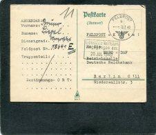 Deutsches Reich Feldpostkarte 1940 - Deutschland