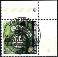 A12-11-8) BRD - Mi 2175 ECKE REO - Zentrisch OO Gestempelt -110Pf/56C    Bundesgrenzschutz - Oblitérés