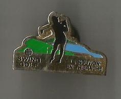 Pin's Swing Golf Le Nouvion En Thiérache - Golf