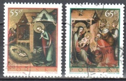 Poland 1998 - Christmas - Mi 3734-35 - Used Gestempelt - Used Stamps