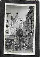 "Zagreb,Jugoslavia-""Split""1n The Town Centrale RPPC 1930s - Antique Real Photo Postcard - Yugoslavia"