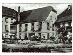 NIEDERBRONN - Hôtel De La Chaîne D'Or (au Verso Ses Menus En Pension Complète) - Bon état - Niederbronn Les Bains