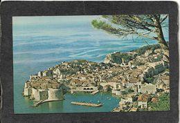Dubrovnik,Yugoslavia-Scenic View On The Dalmation Coast, Pan Am Card 1950s - Antique Postcard - Yugoslavia