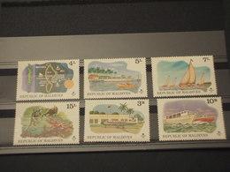MALDIVES - 1975 TURISMO(TEMATICHE VARIE) 6 VALORI - NUOVI(++) - Maldive (1965-...)